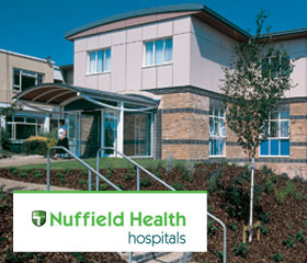 Visit Huw David at Nuffield Health Plymouth Hospital, Devon